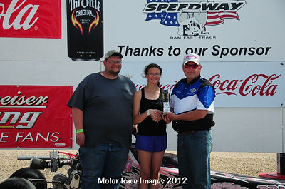 June 10, 2012 - Coca Cola Points Race #3