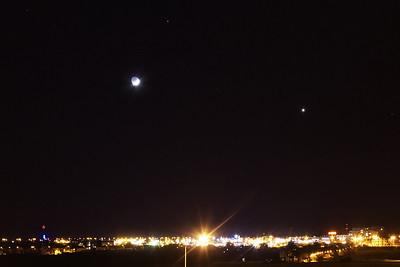 Měsíc, Venuše a Mars 1. 3. 2017