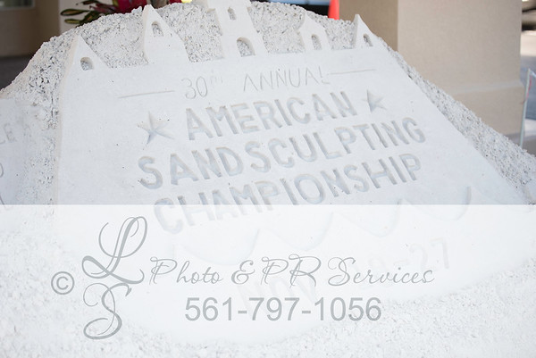 American Sand Sculpting Championship - 30th 2016
