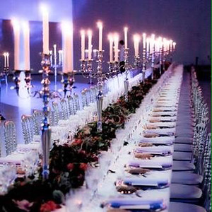 70625 Table chandeliers with led candles