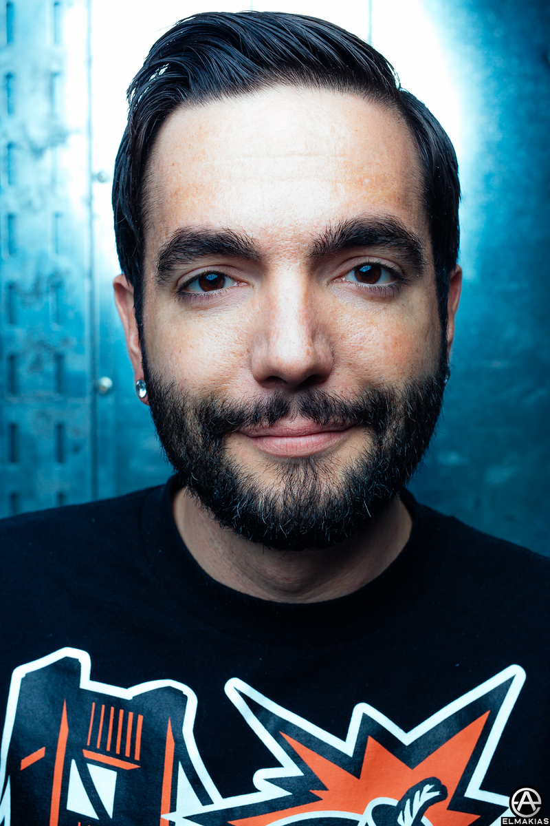 Jeremy McKinnon of A Day To Remember - The Parks And Devastation Tour by Adam Elmakias
