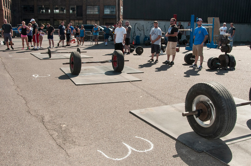 Tire Deadlift is Ready and Waiting