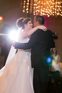 Reception Father Daughter Dance- Danielle & Andy Bruno Wedding Photography- Holy Trinity Westfield, MA/ Chez Josef Agawam, Mass.