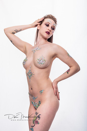 Rhinestone Body Art