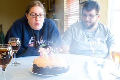 Aubrey's birthday - 2018