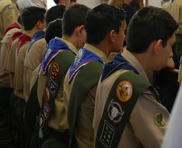 2019 Boy Scouts of America Catholic Religious Awards Mass