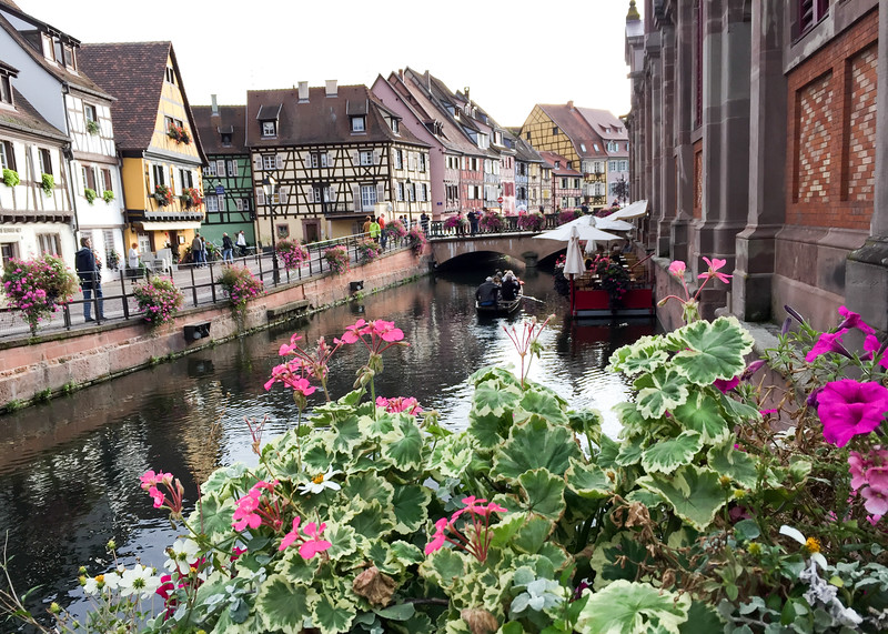 The canal in Colmar, France.