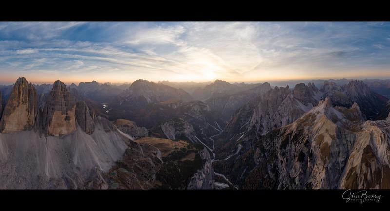 Sunset at Three Peaks
