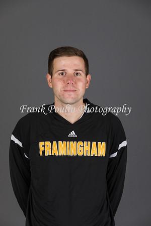 Framingham State men's basketball headshots 2017-2018