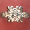 .69ct Transitional Cut Diamond Solitaire 4