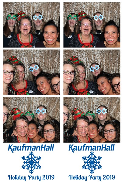 "Kaufman, Hall & Associates ""Holiday Party 2019"""