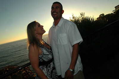 Michelle and Javier Engagement - Crescent Bay Park - Laguna Beach CA
