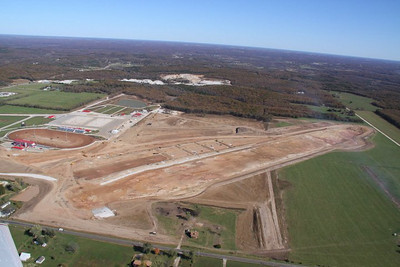 Lucas Oil Lake Construction Photos