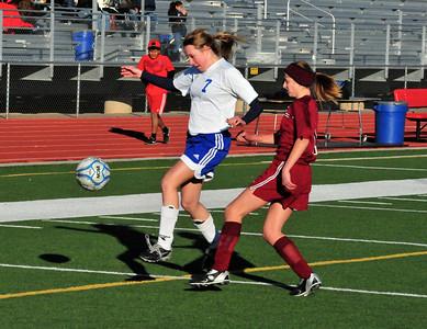 Arcadia V McClintock JV Soccer 01-14-13