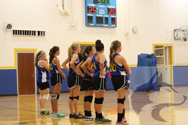 9/22 JH Volleyball vs. Burwell