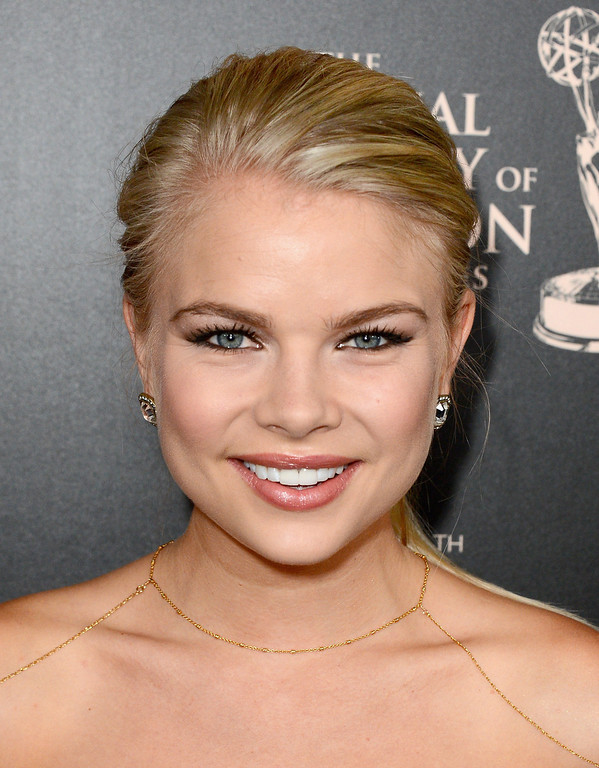 . Actress Kelli Goss attends The 40th Annual Daytime Emmy Awards at The Beverly Hilton Hotel on June 16, 2013 in Beverly Hills, California.  (Photo by Mark Davis/Getty Images)