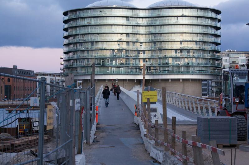 Gemini, Copenhagen Harbour. seen from the walkbridge
