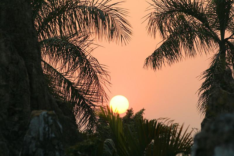 Splendid China, Sunset