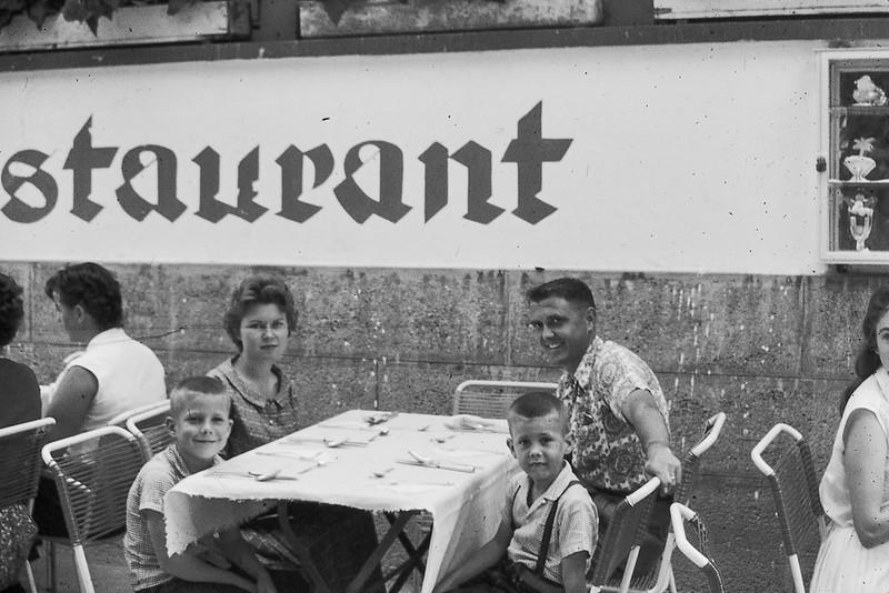 Tom, Jo, David and Don 1958-1961