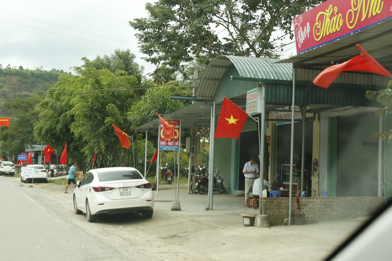 Yellow Star on Red is the flag of Vietnam