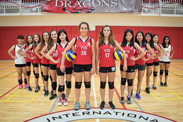 HS JV Girls Volleyball