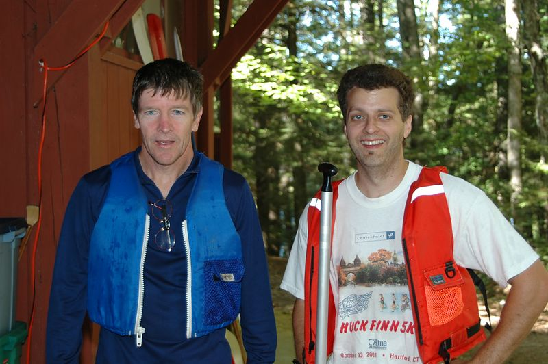 Dan and Steve after their course