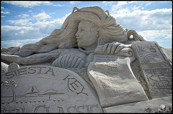 Sand Sculptures Siesta Key FL