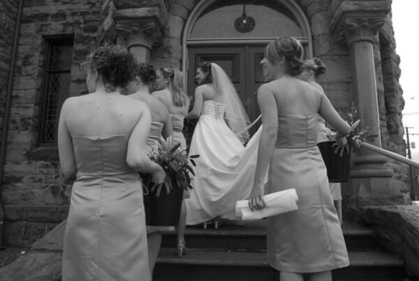 Evita's Entrance