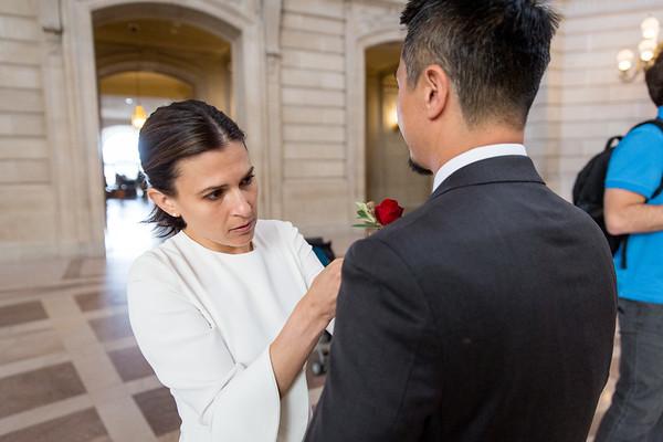 Lori SF City Hall Wedding