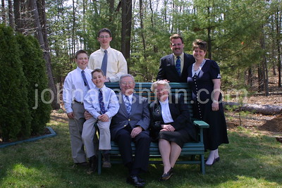 Hammond Family Photo - April 14, 2001