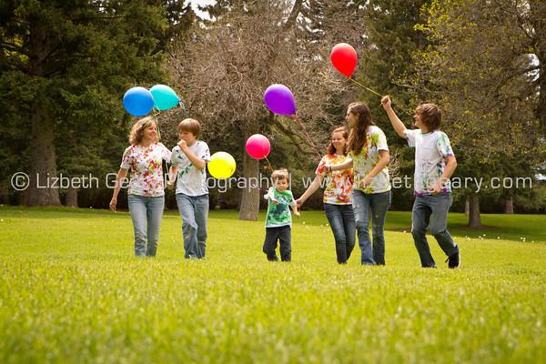 Elizabeth and kids