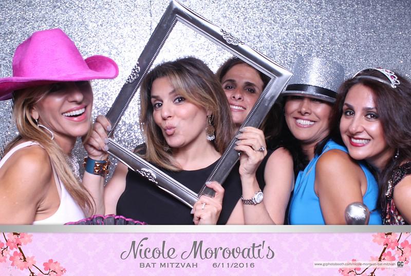 Nicole Morovati's Bat Mitzvah