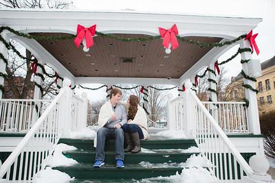 Kristen and Travis Glens Falls Engagement Session