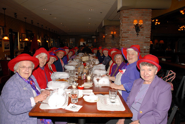 Red Hats Dinner