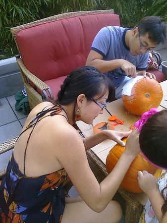 2009 Halloween Pumpkin Carving