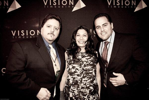 Vision Limo celeb gift booth at the Hollywood Xmas Parade