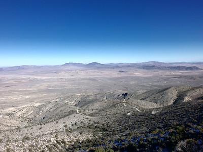 Silver Peak FS Road Run - San Bernardino NF