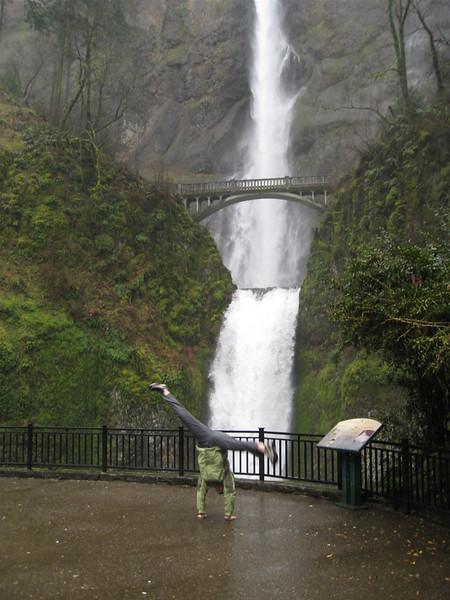 Stacee Calderon - Multnomah Falls, OR - 3/2008