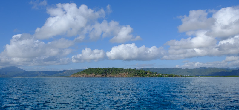 Port Douglas from the sea