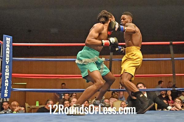 Bout 4 John Gregory(Red Wrist-wraps), Youngstown -vs- Kevin Shacks(Blue Wrist-wraps), East Lansing, MI, 140 lbs