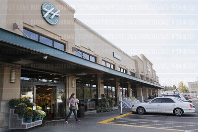 Pictured is the Shoreline, Washington store of theHaggen grocery store chain that announced on September 8 that is bankrupt