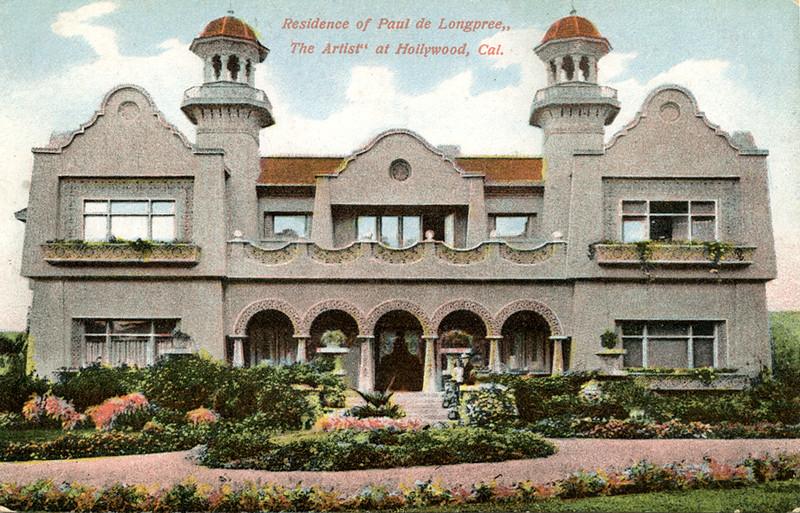 Residence of Paul de Longpree