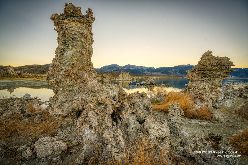 Evening at Mono Lake