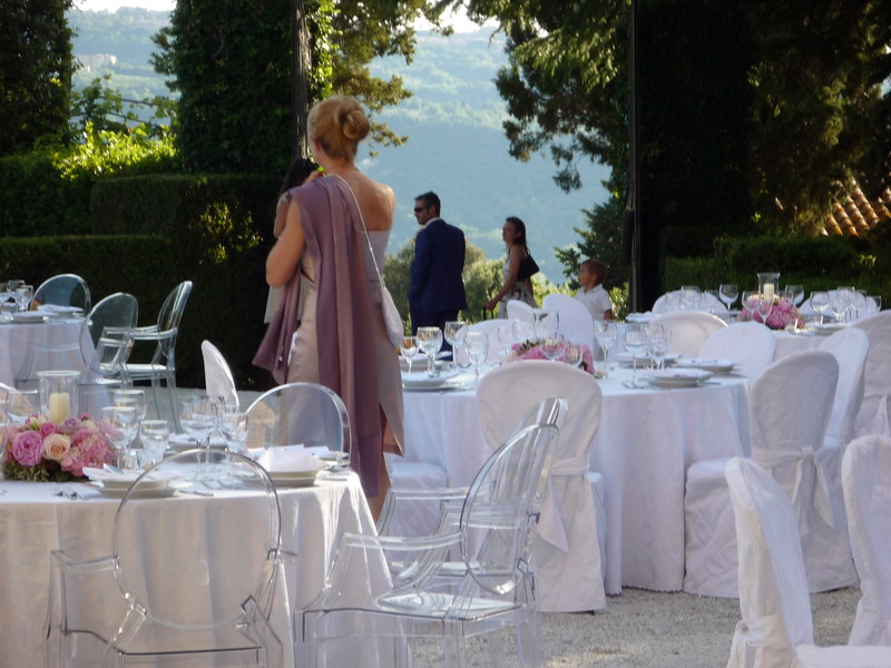 Courtyard, view (also somebodys wedding)