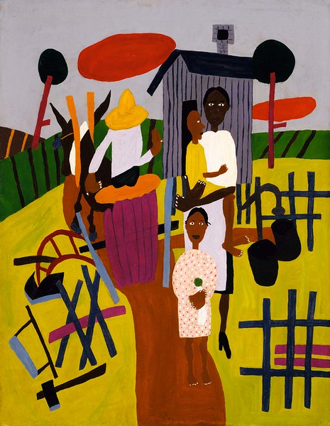 "William H. Johnson, ""Farm Family"" (1940-44)"