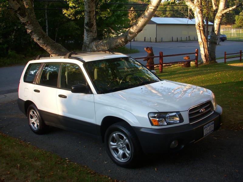 Our new 2004 Subaru Forester,sep 12, 2012. DSCN0304.JPG