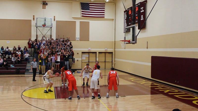 Basketball Score Foul James Stoll 4.MOV