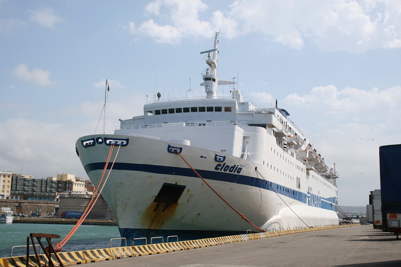 2008 - F/B CLODIA moored in Civitavecchia.