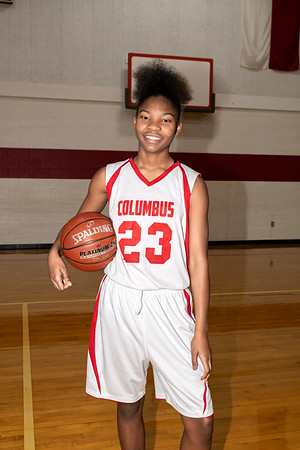 2019-2020 Girls Junior High Basketball Team Pictures