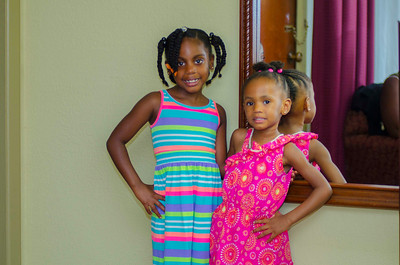 The Granddaughters Nyasia, Brielle & Ryleigh.